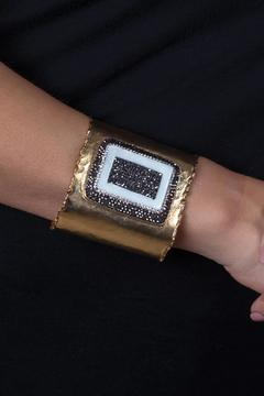 Shoptiques Product: Bronze Tile Cuff