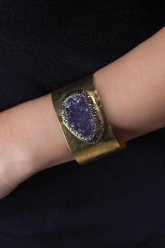 Shoptiques Product: Druzy Purple Cuff
