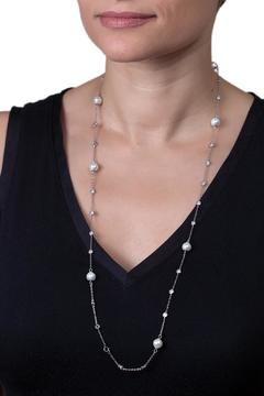 Shoptiques Product: Long Pearl Necklace