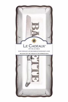 Le Cadeaux Baguette Tray/knife Set - Alternate List Image