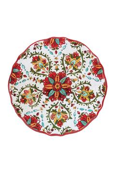 Le Cadeaux Salad Plates - Red - Alternate List Image