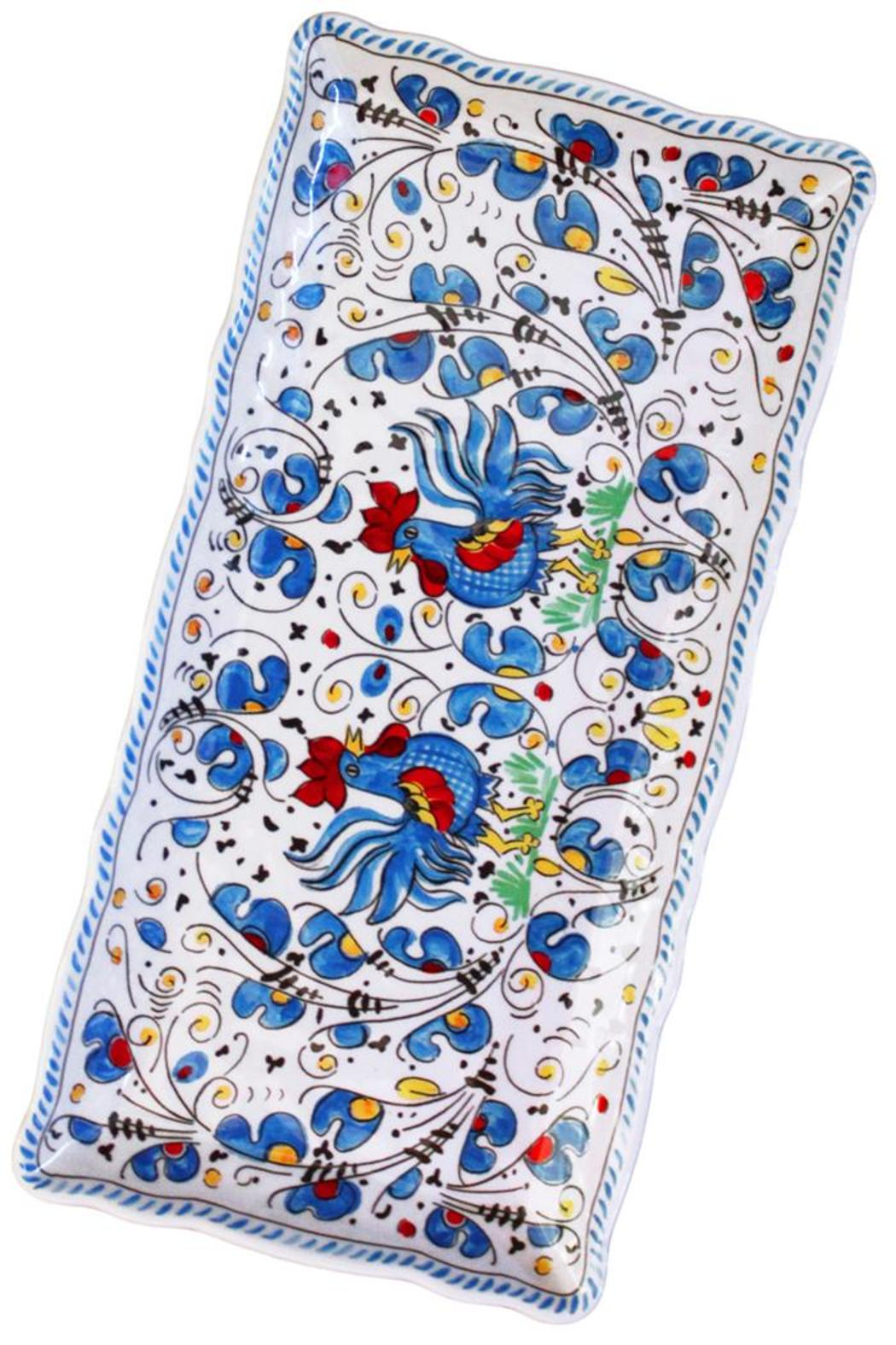 Le Cadeaux Small Melamine Tray - Front Full Image