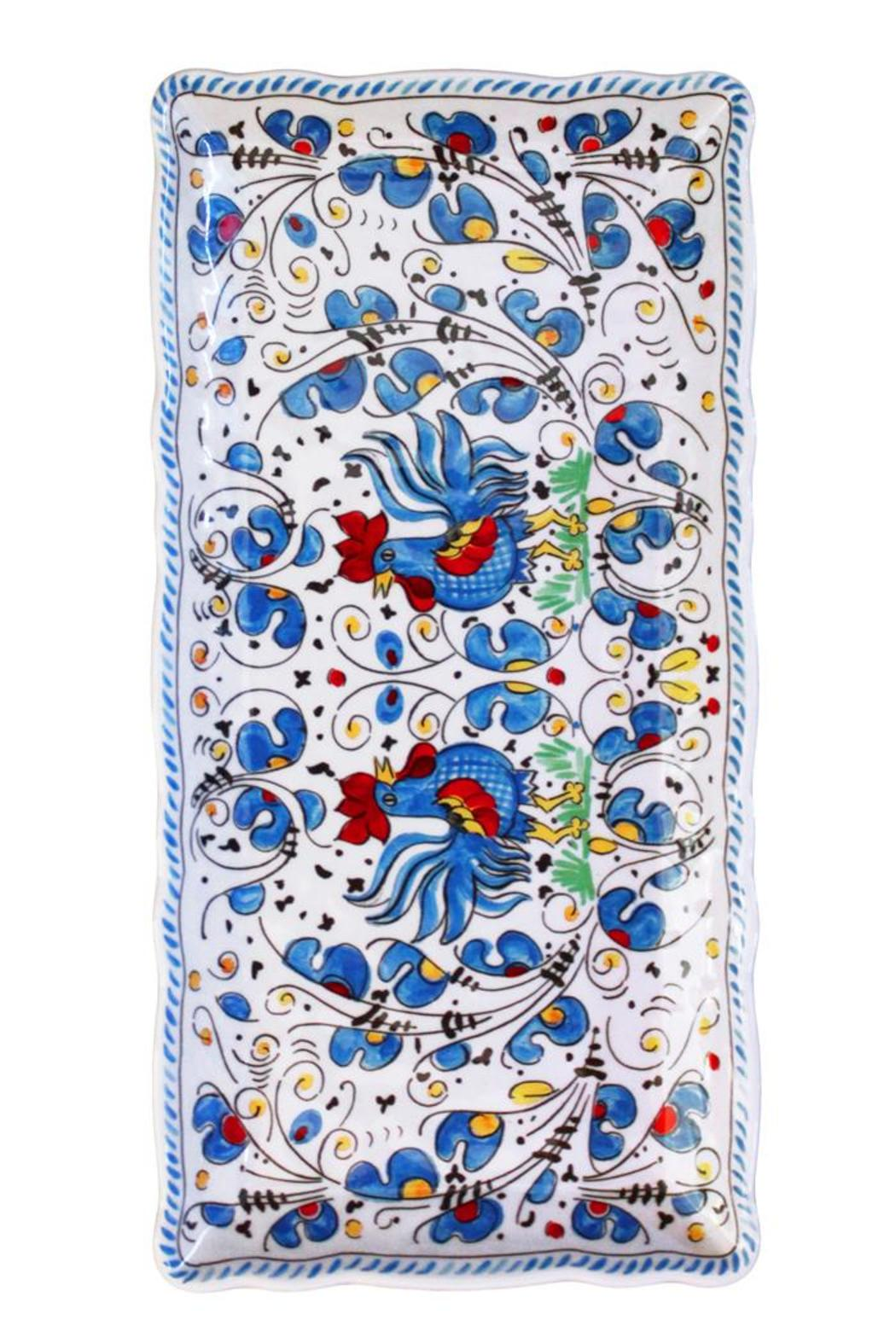 Le Cadeaux Small Melamine Tray - Front Cropped Image