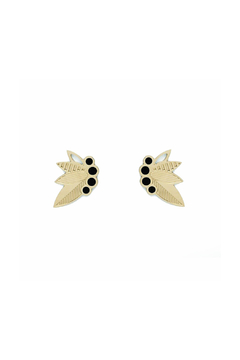 Shoptiques Product: Enamel Floral Earrings
