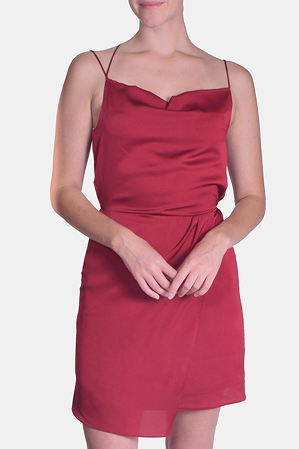 Le Lis Alluring Slip Dress - Front Cropped Image