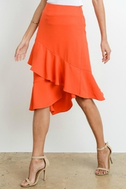Le Lis Asymmetrical Layered Skirt - Side cropped