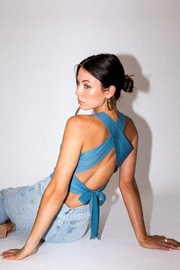 Le Lis Back Criss Cross Top - Other