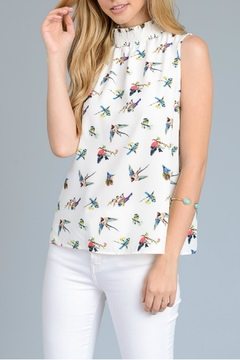 Le Lis Bird Print Top - Product List Image
