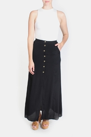 Le Lis Black Maxi Skirt - Product Mini Image