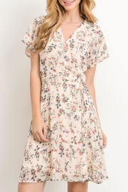 Le Lis Blush Floral Dress - Product Mini Image
