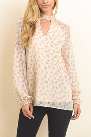 Le Lis Bow Back Blouse - Product Mini Image