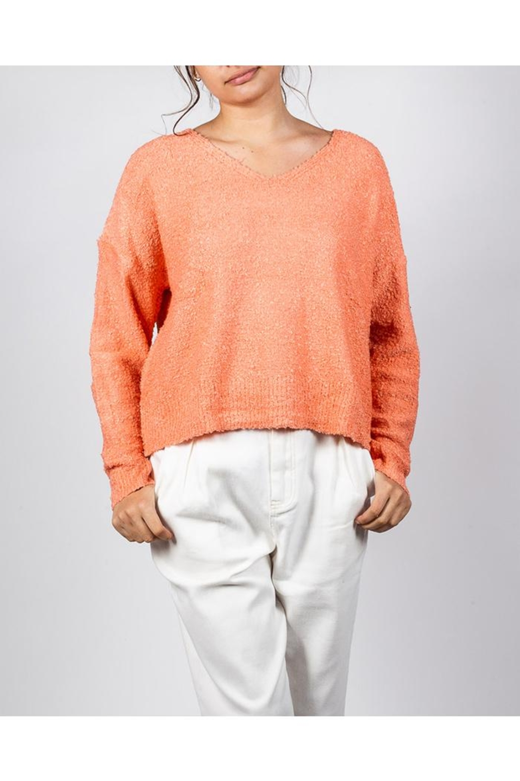Le Lis Bright Spring Sweater - Main Image