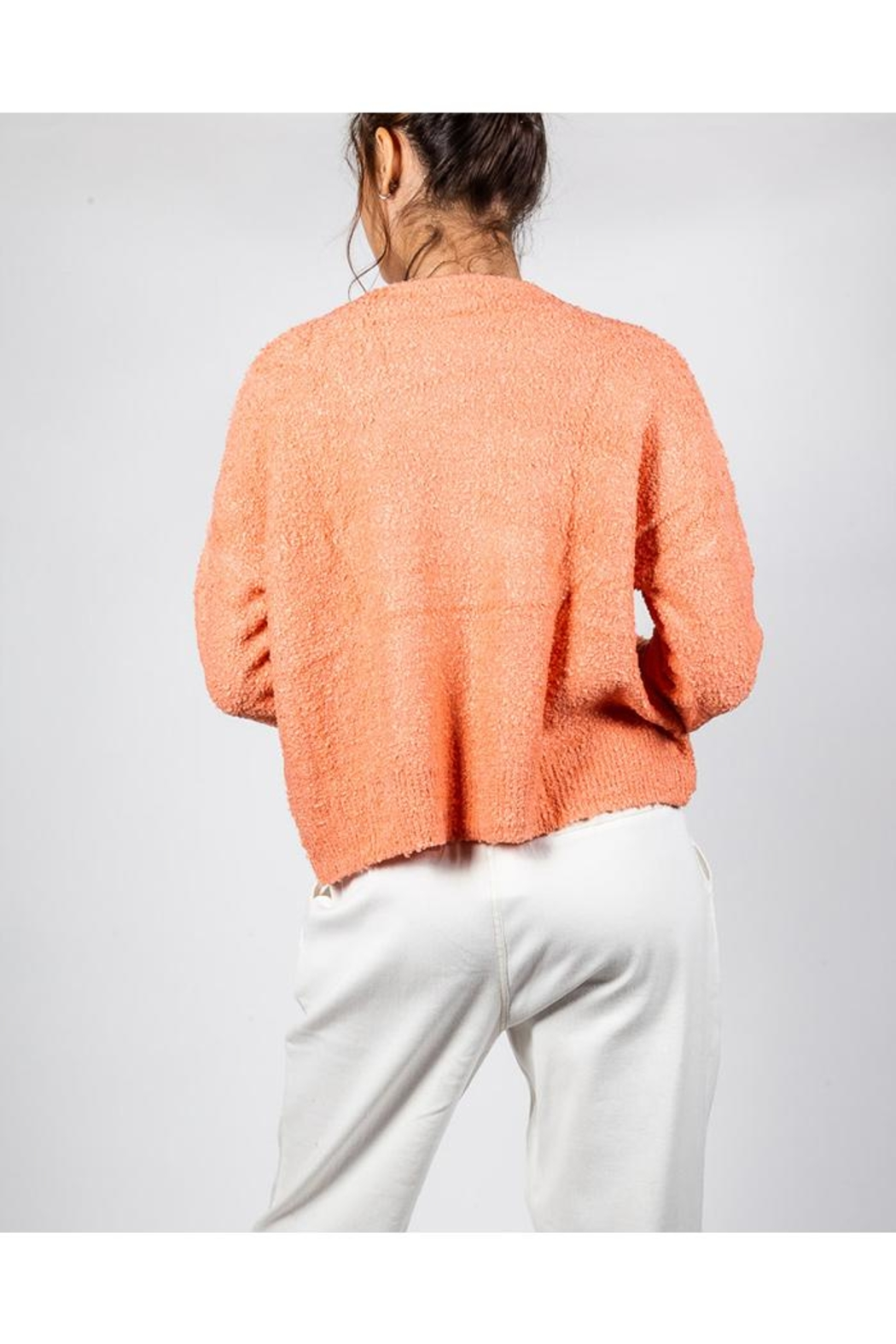 Le Lis Bright Spring Sweater - Side Cropped Image