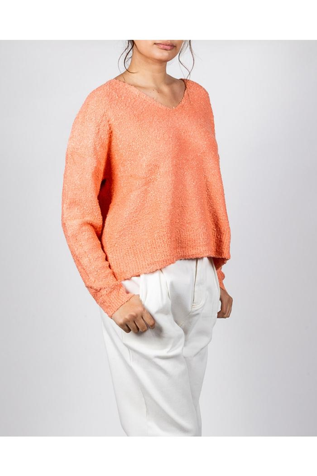 Le Lis Bright Spring Sweater - Front Full Image