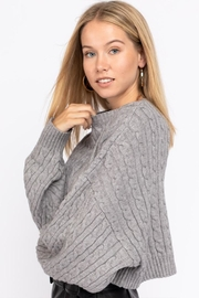 Le Lis Cable Knit Sweater - Side cropped