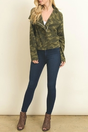 Le Lis Camo Print Jacket - Product Mini Image