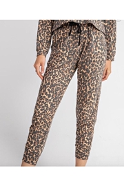 Le Lis Cheetah Print Sweatpants - Product Mini Image