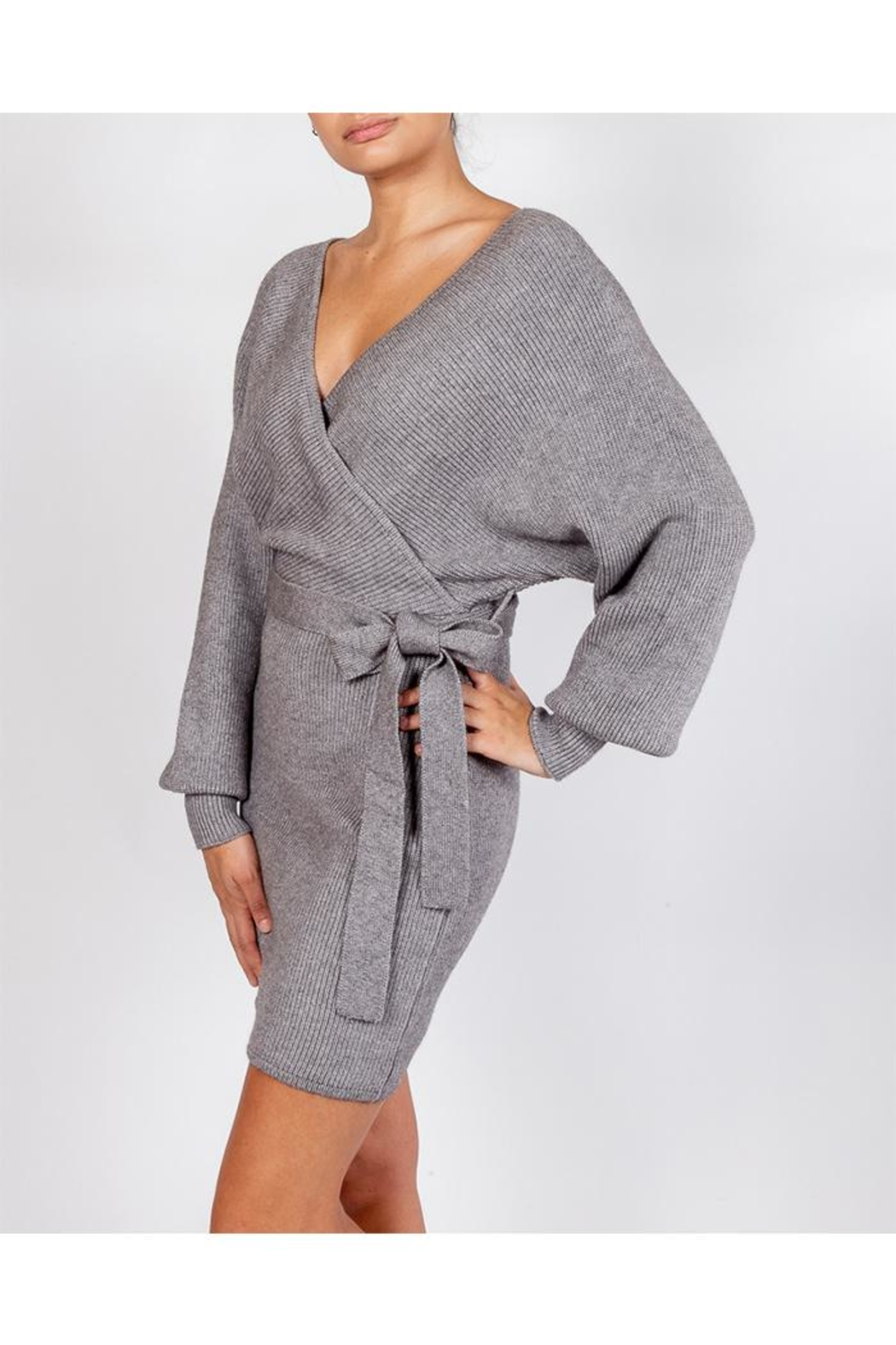 Le Lis Chic Sweater Dress - Side Cropped Image
