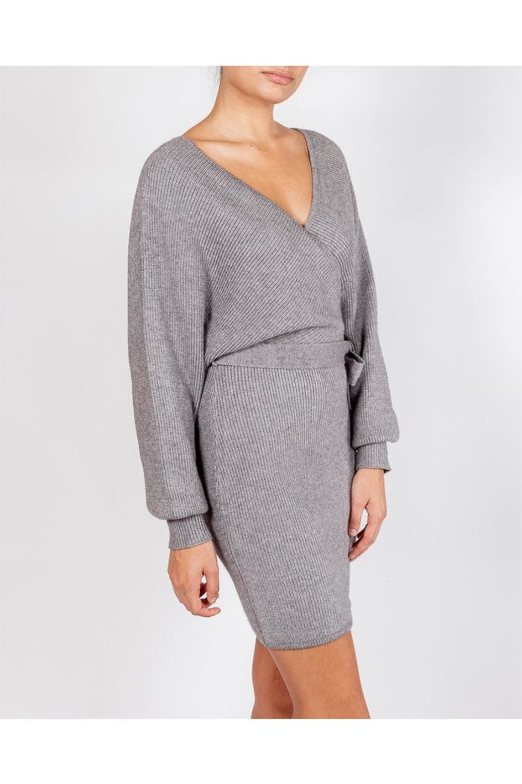 Le Lis Chic Sweater Dress - Front Full Image
