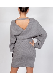 Le Lis Chic Sweater Dress - Back cropped