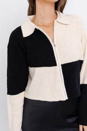 Le Lis Color Block Collared Jacket - Other
