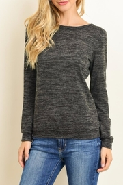 Le Lis Criss Cross Top - Front cropped
