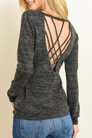 Le Lis Criss Cross Top - Front full body