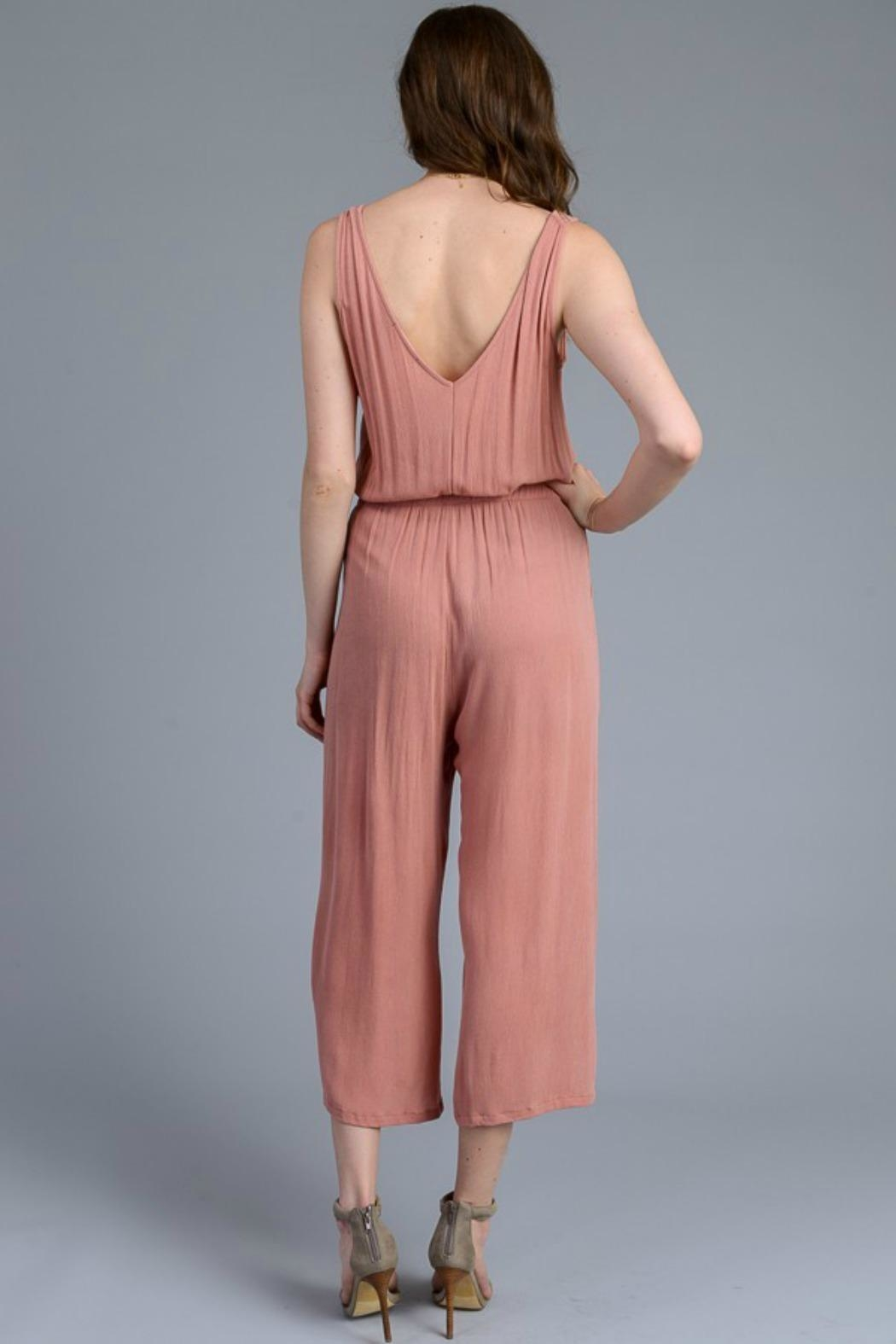 Le Lis Cropped Jumpsuit - Side Cropped Image