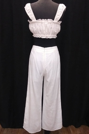 Le Lis Cropped Pant Set - Front full body