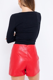 Le Lis Cut-Out Crop Top - Front full body