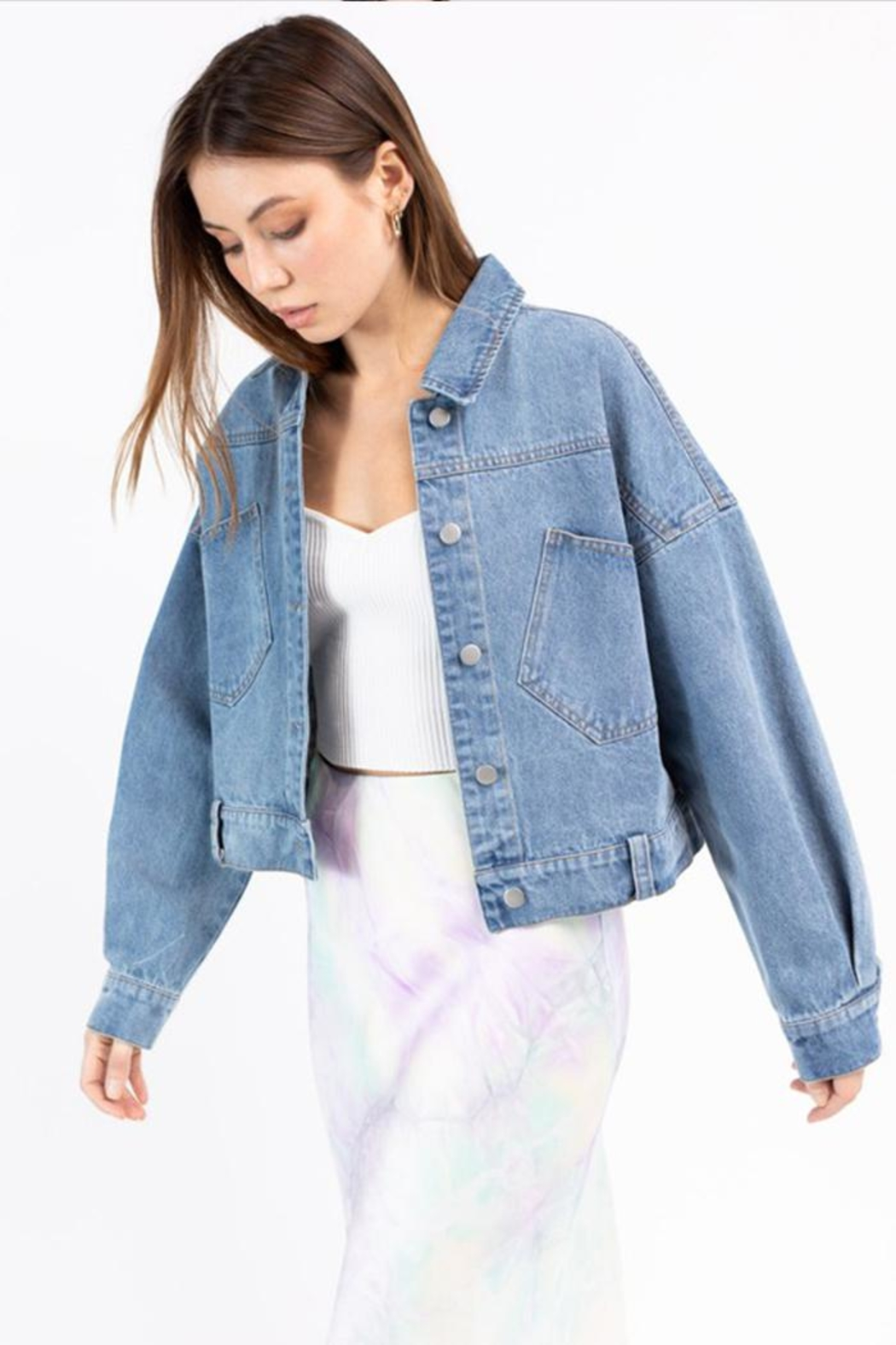 Le Lis Denim Jacket - Main Image