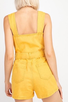 Le Lis Denim Romper - Alternate List Image