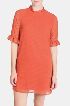 Le Lis Dotted Ruffle Dress - Product List Image