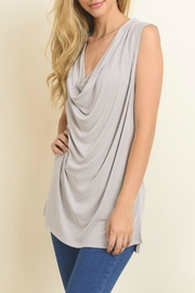 Le Lis Draped Soft Tank Top - Product Mini Image