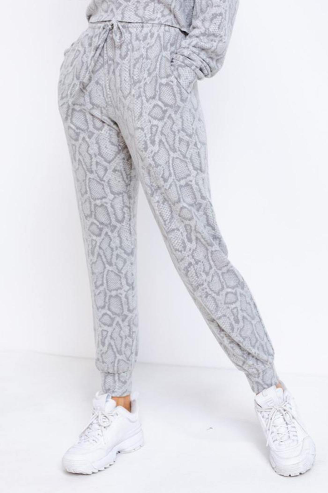 Le Lis Drawstring Lounge Pants - Front Full Image
