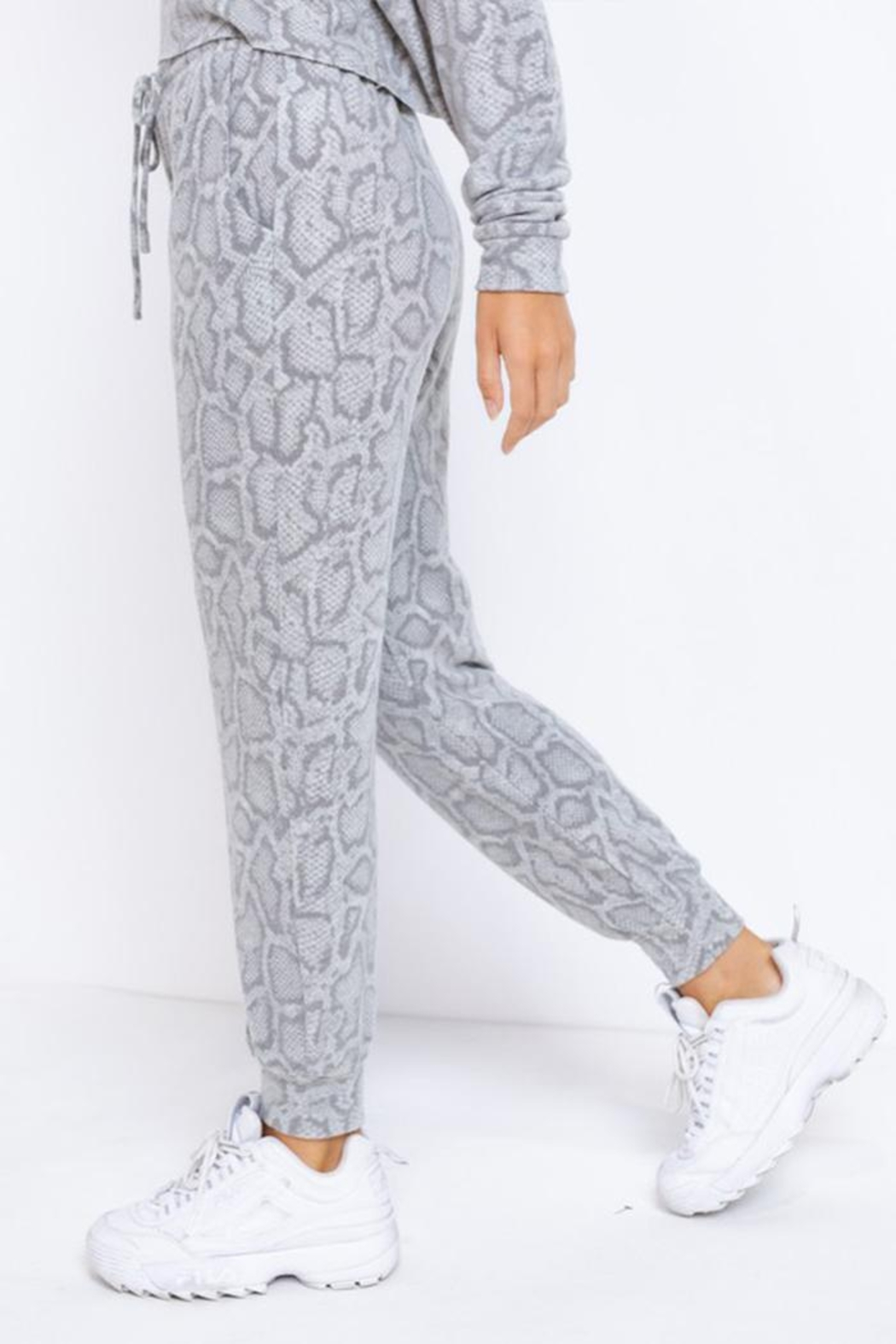 Le Lis Drawstring Lounge Pants - Side Cropped Image