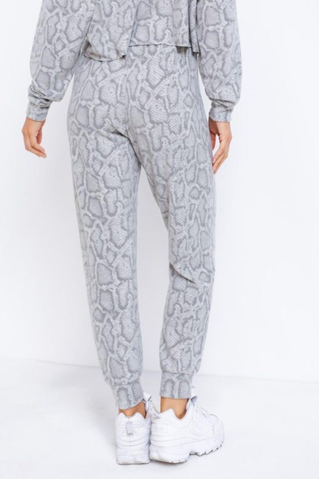 Le Lis Drawstring Lounge Pants - Back Cropped Image