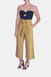 Le Lis Dreamers Tie-Waist Pants - Front full body