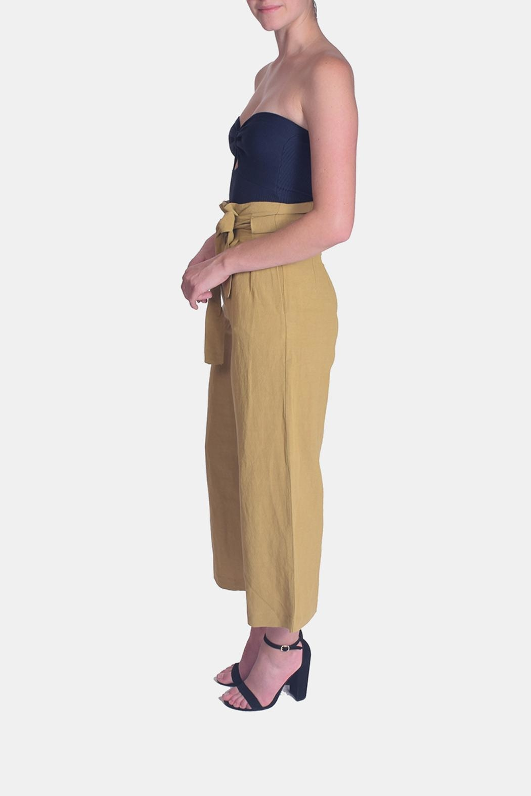 Le Lis Dreamers Tie-Waist Pants - Side Cropped Image