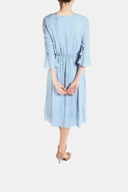Le Lis Dreamy Blue Embroidered Dress - Other