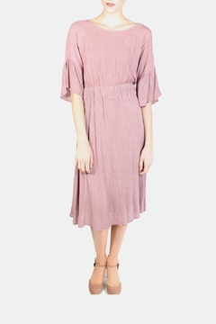 Le Lis Dreamy Rose Midi Dress - Product List Image