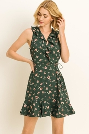 Le Lis Fall Wrap Dress - Product Mini Image
