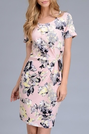 Le Lis Floral Nalia Dress - Front full body