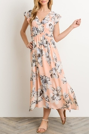 Le Lis Floral Maxi Dress - Front full body