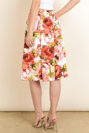 Le Lis Floral Midi Skirt - Other