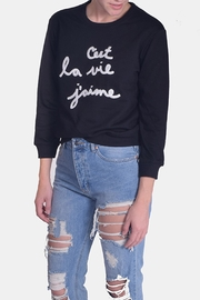 Le Lis French Pullover Sweater - Product Mini Image