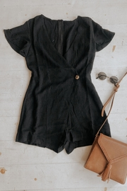 Le Lis Friendly Black Romper - Product Mini Image