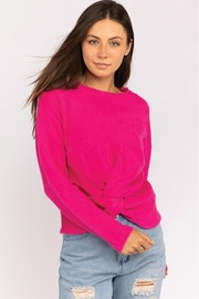 Le Lis Front Twist Sweater - Product Mini Image