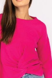 Le Lis Front Twist Sweater - Side cropped