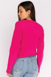 Le Lis Front Twist Sweater - Front full body